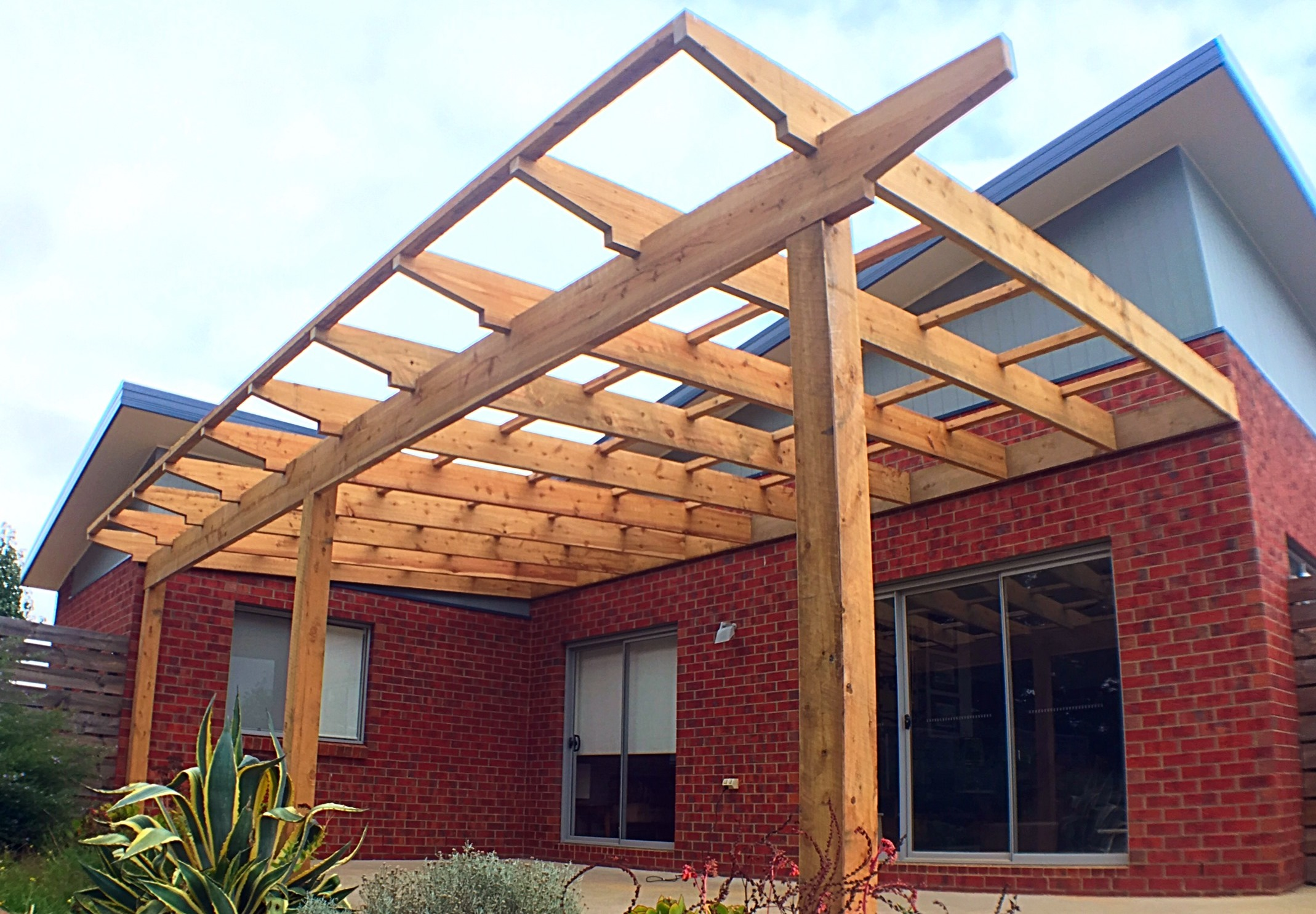 Custom Outdoor Pergola