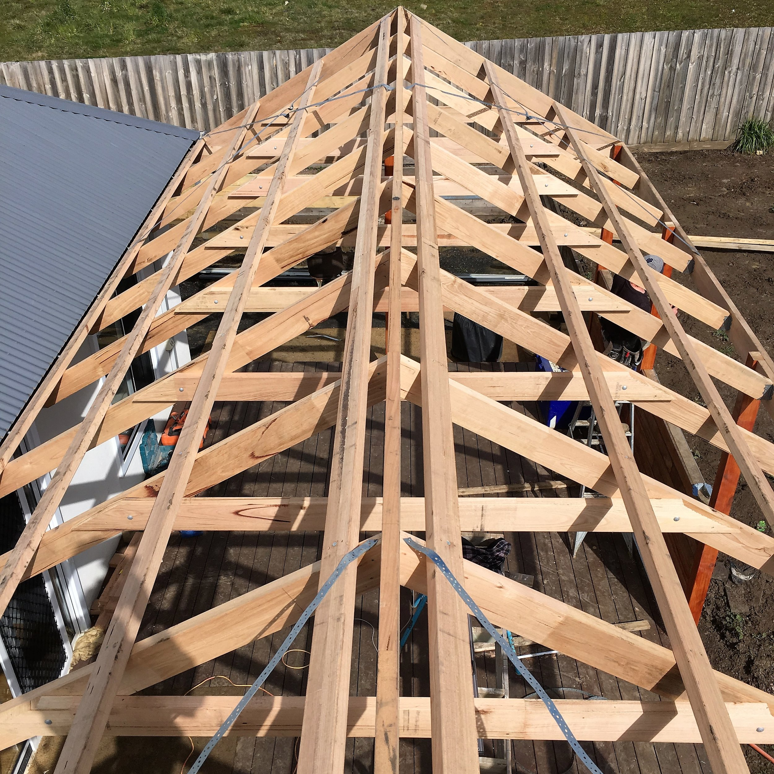 Timber Roof Framing
