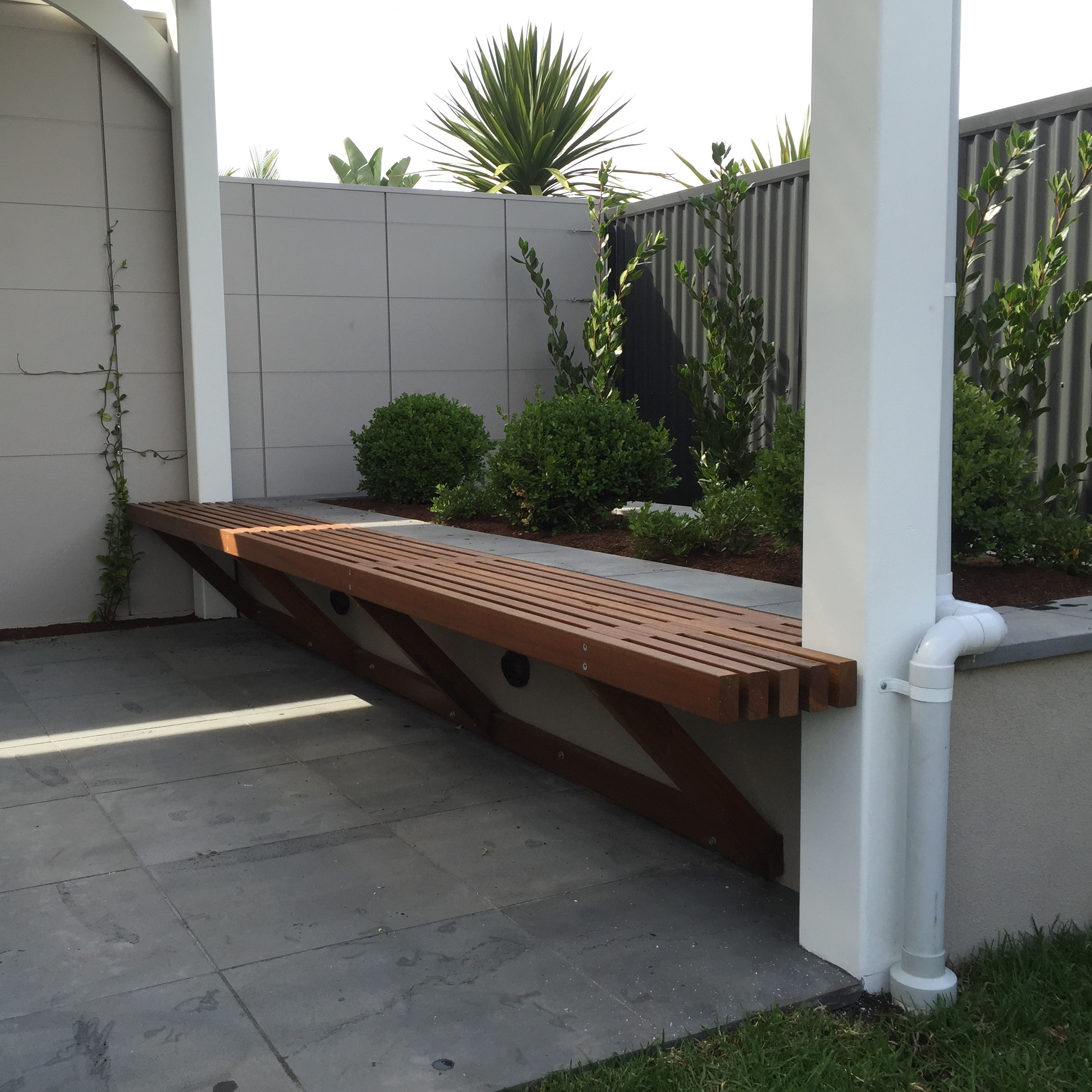 Customer Outdoor Seating - Spotted Gum