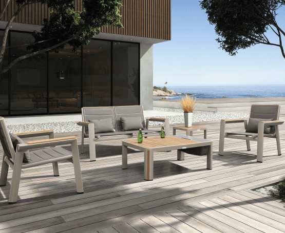 Relax into summer with a new patio set! -