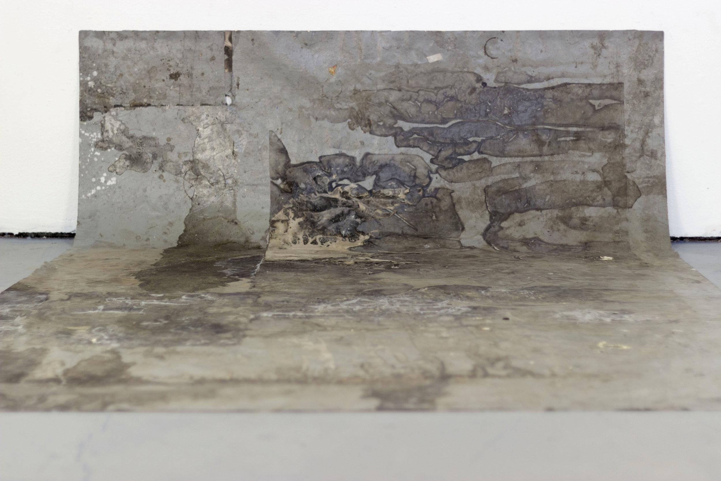 Floor palimpsest — Faith Sponsler