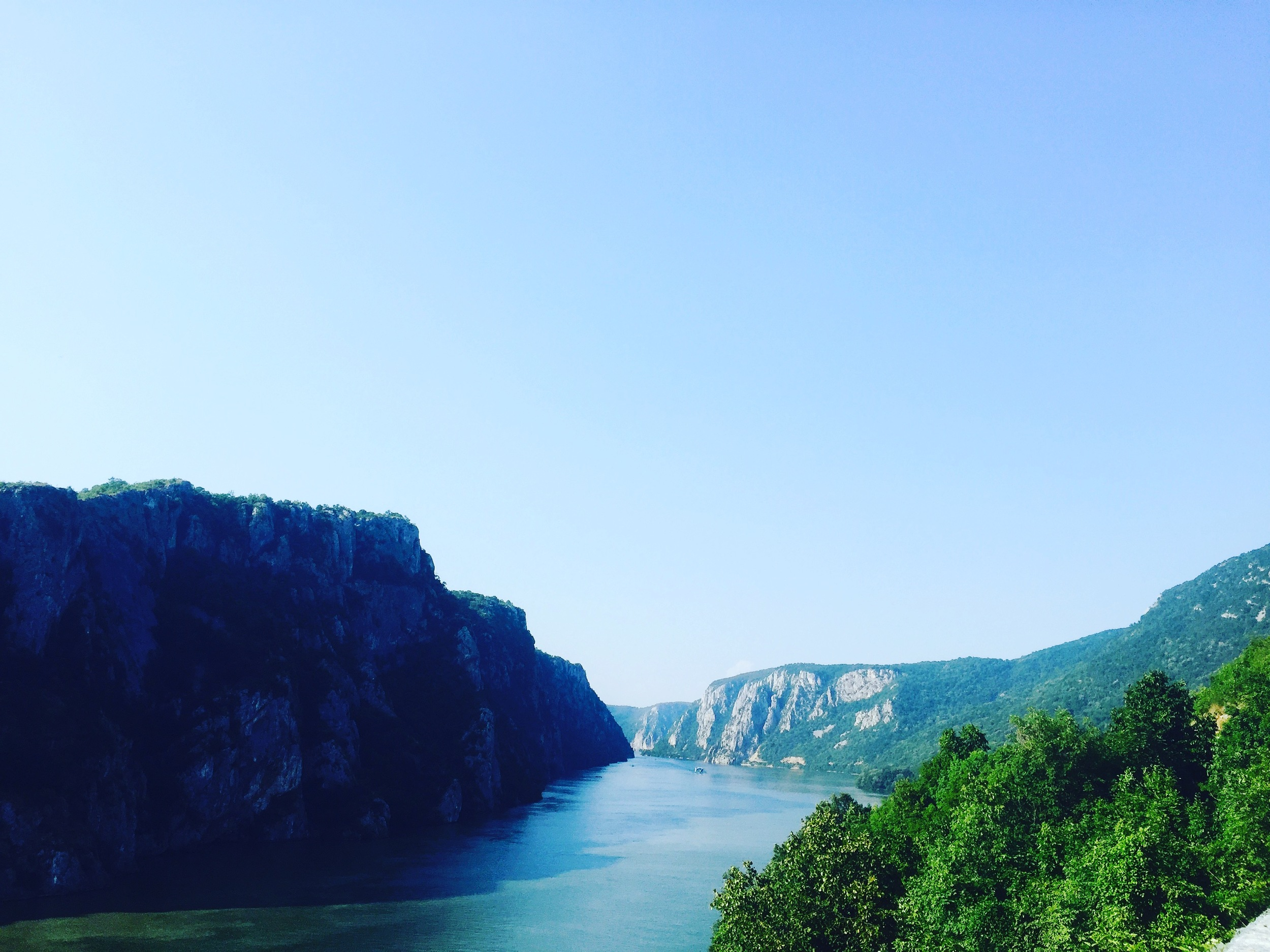 The Iron Walls along the Danube look like something out of Middle Earth.