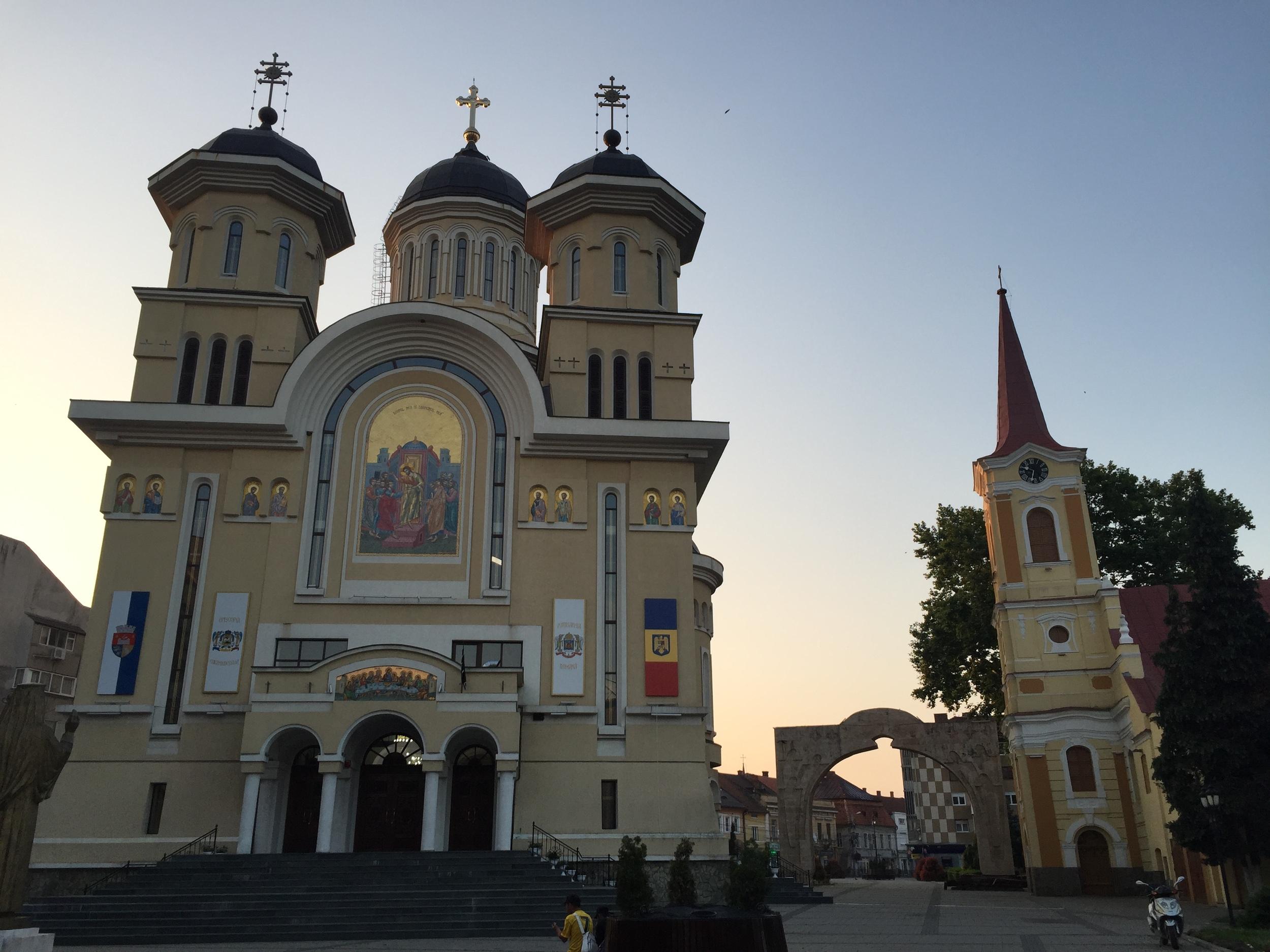 The main church in Caransebes.