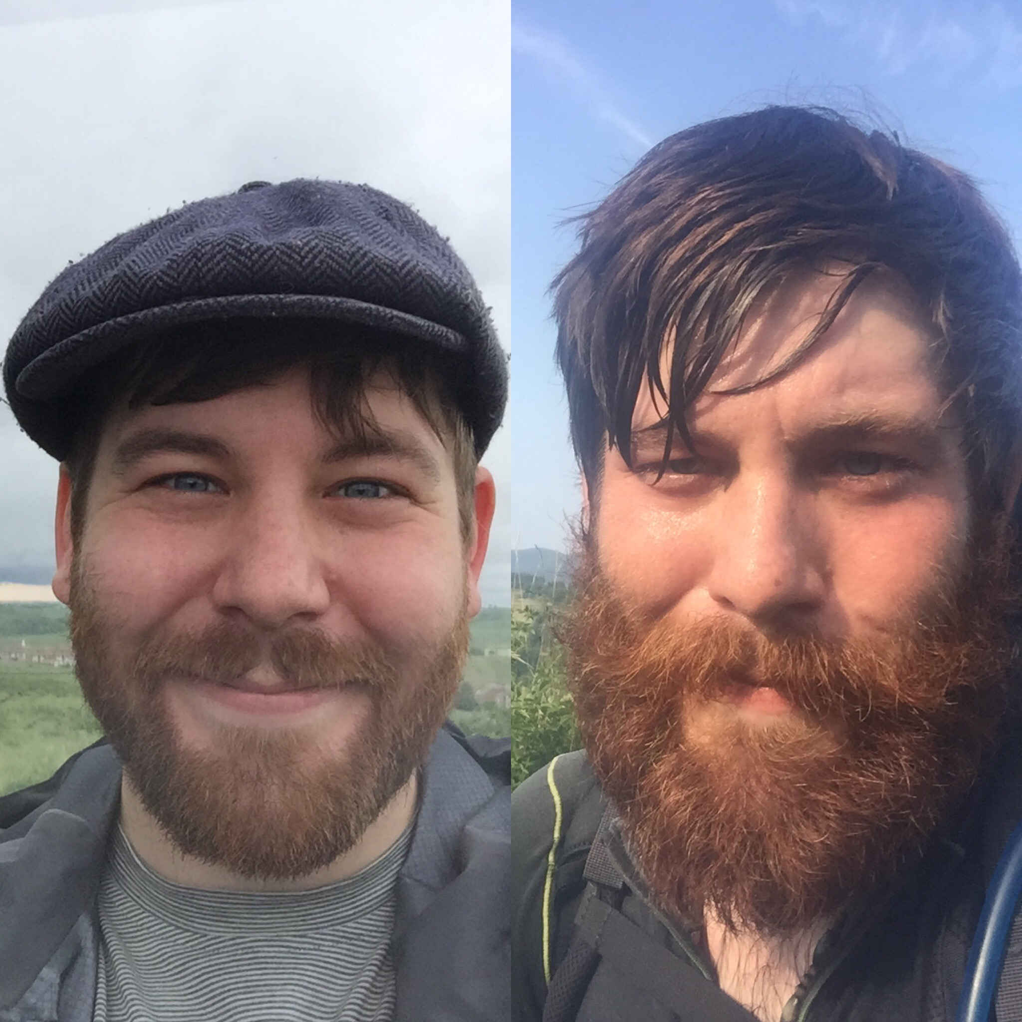 It's amazing what three months of walking will do to a person.
