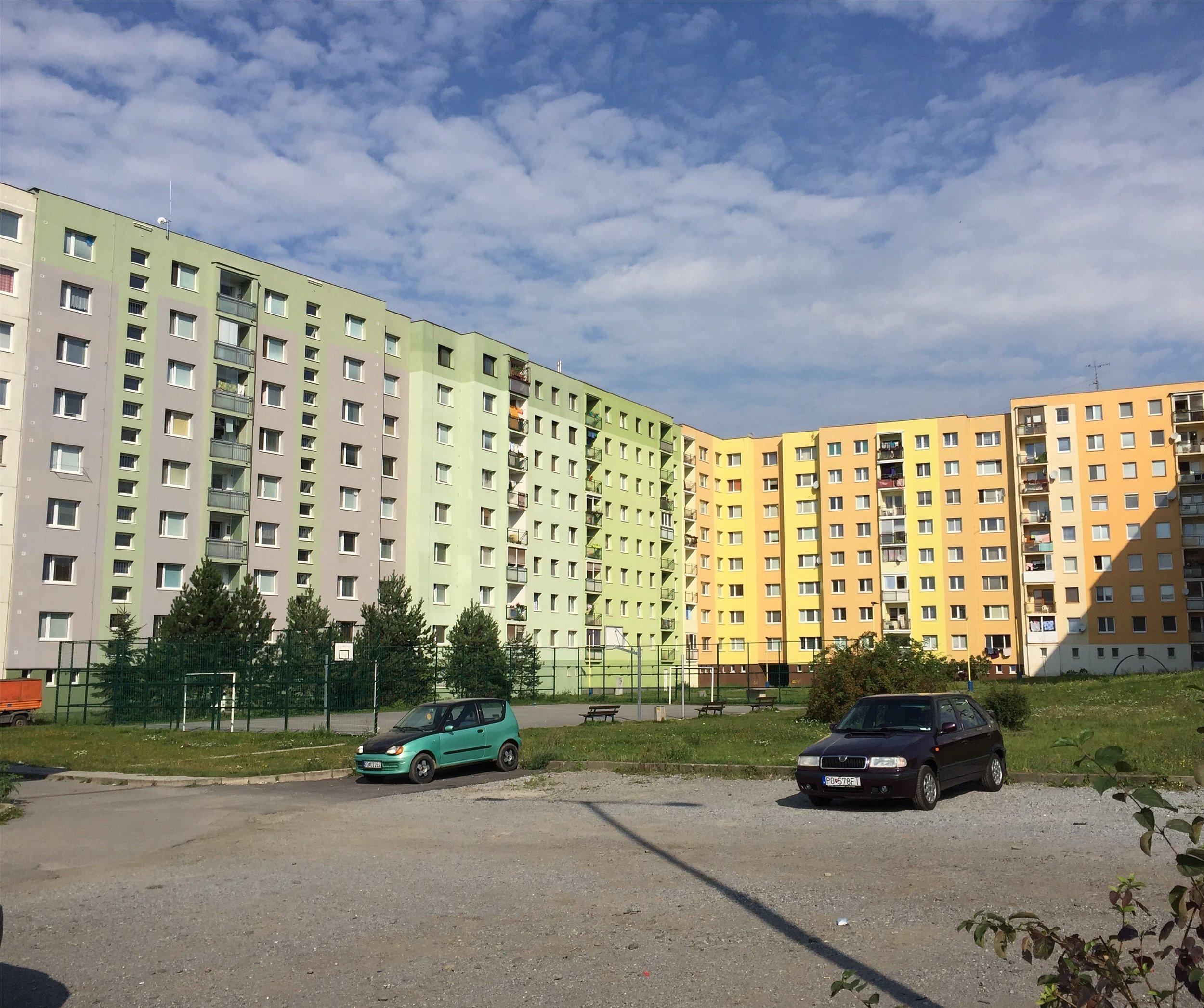 Blocks in Prešov.
