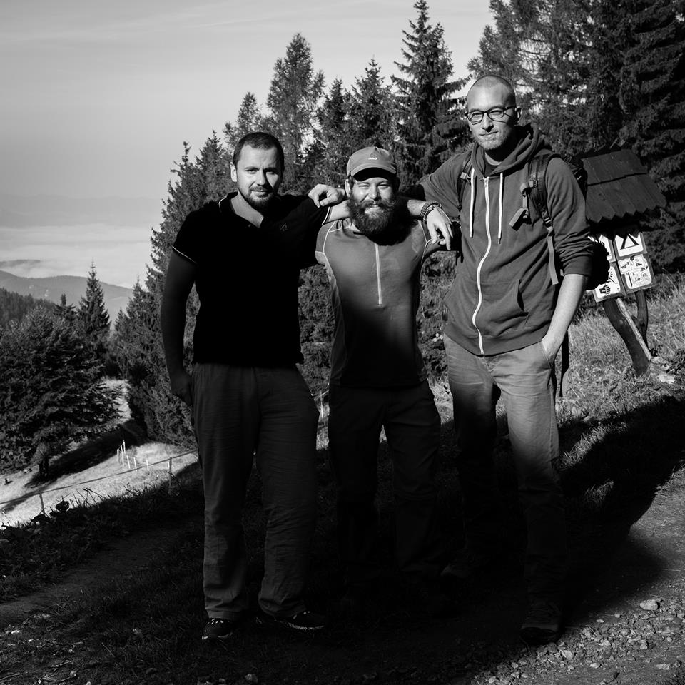 Jozef, myself, and Tomas.