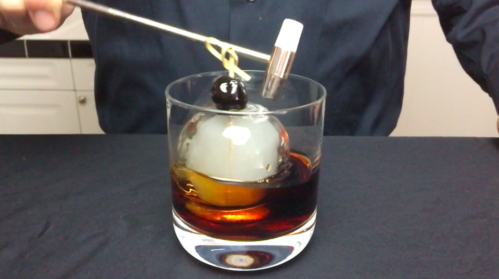 Smoke Bomb Cocktail