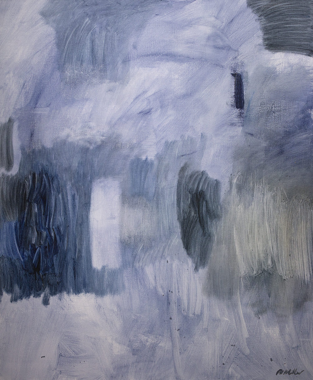 Transcendence  Acrylic on linen  90 x 105cm