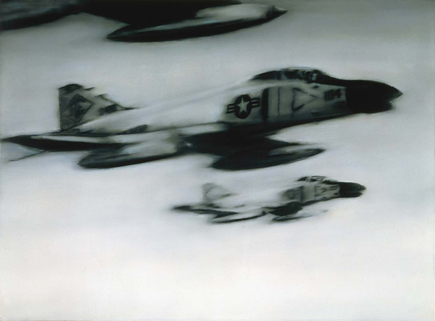 Gerhard Richter, Phantom Interceptors, 1964. Oil on canvas, 140 x 190 cm