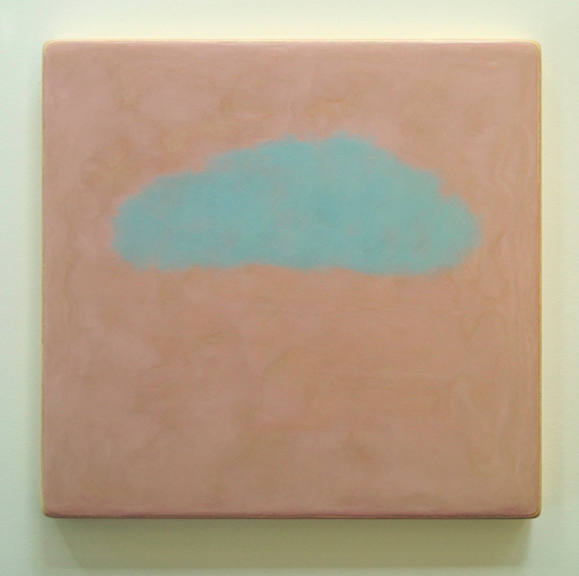 Kat Shapiro Wood  Hover, encaustic on board, 30 x 30 cm