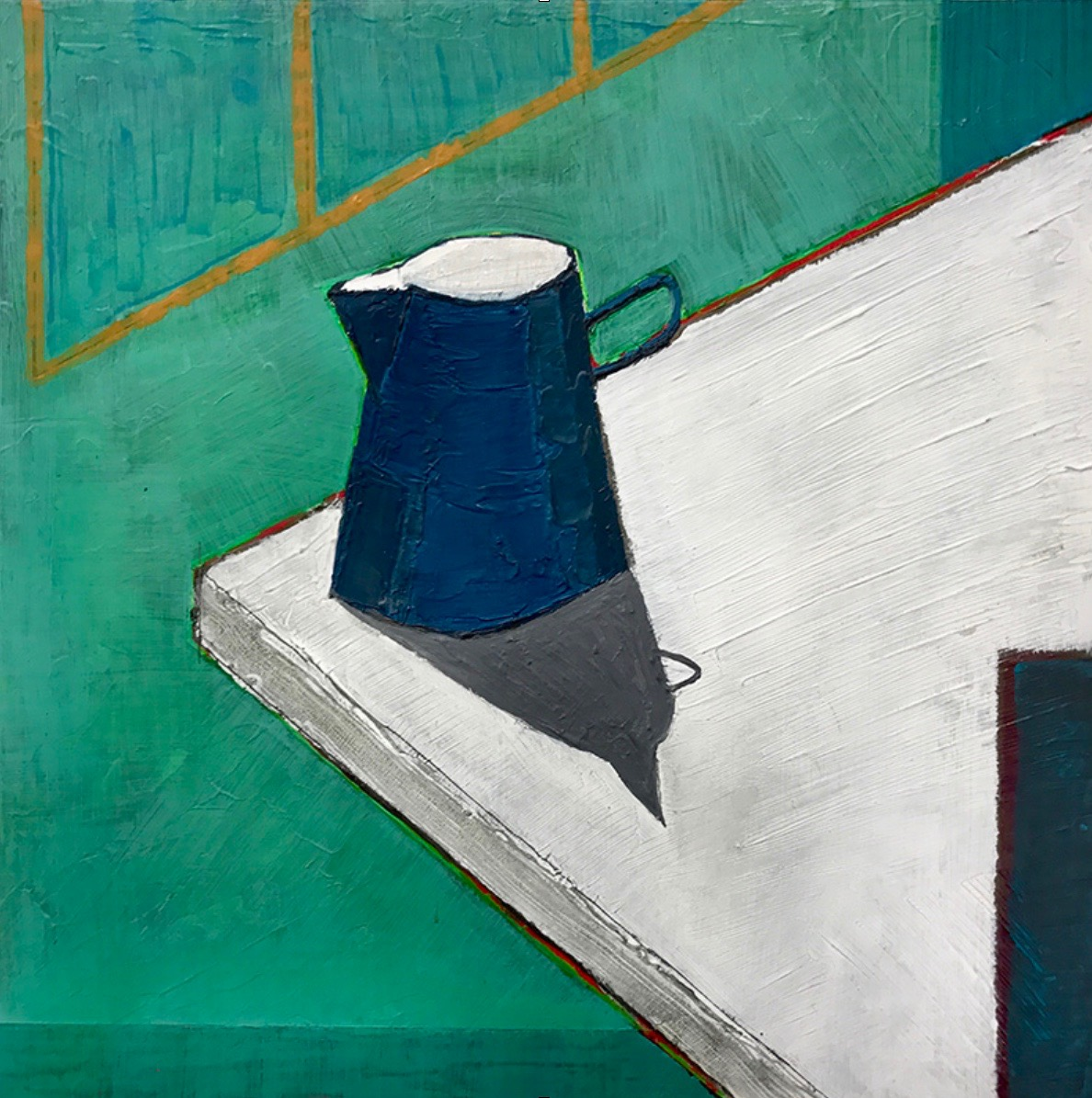 Nick Coulson  Still Life with Jug, Hallway and Windows I