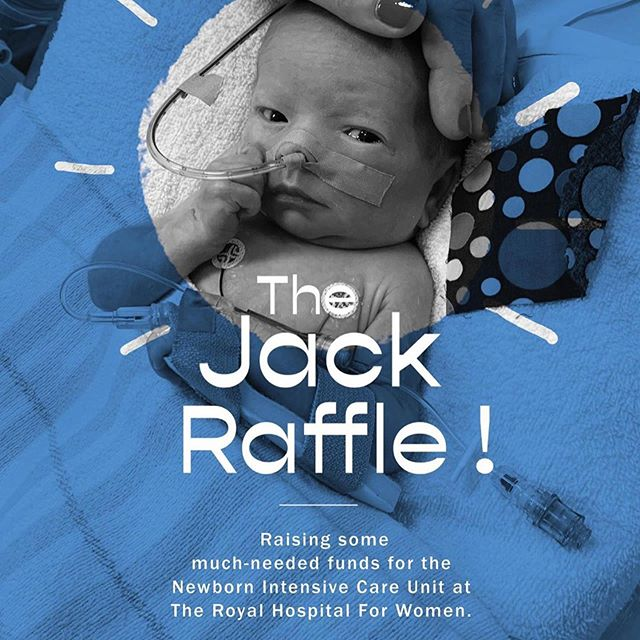 An incredible prize pool, for a wonderful cause. To enter, follow link in bio: @kieranburke___  From Skye & Kieran Burke:  Jack Samuel Burke was born on May 14, 2019, at 36 weeks.  Weekly visits to the hospital, endless appointments with surgeons, doctors, specialists, and radiographers prior to Jack's birth got us a little closer to what we should expect when he was born, but until he arrived, we only had high hopes that he would be born happy and healthy, when in reality we had no idea what was to come.  What we did get on May 14 was the trifecta of issues. Issues, however, fixable with patience and time. We are the lucky ones. What we also got on May 14 was a crash course into what life in the Newborn Intensive Care Unit at The Royal Women's Hospital in Randwick, Sydney was like.  Life got put on hold. Priorities changed. Overwhelming feelings of gratitude took over. So much so that we started thinking about what we could do (albeit small) to help give back and do something.  The result is THE JACK RAFFLE.  A call-out to friends, colleagues, brands, artists, and individuals we work with, in our professional lives and their overwhelming generous donations of support.  Jack is now at the CICU at the Sydney Children's Hospital and is on the long road to being mended. But, we will forever be grateful for the love, care, empathy and understanding the NICU showed the Burke family for the first 54 days of Jack's life.  Until you get to experience a situation like the one we are facing, you will never quite understand how lucky we are to live in Australia where healthcare is free and can be supported by such a brilliant facility as the NICU at The Royal Women's Hospital in Randwick, Sydney.  With love and thanks, Kieran, Skye, Marlowe and Jack Burke xxxx