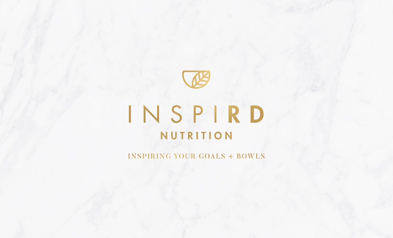 Inspird Nutrition Logo Design by LR Creative