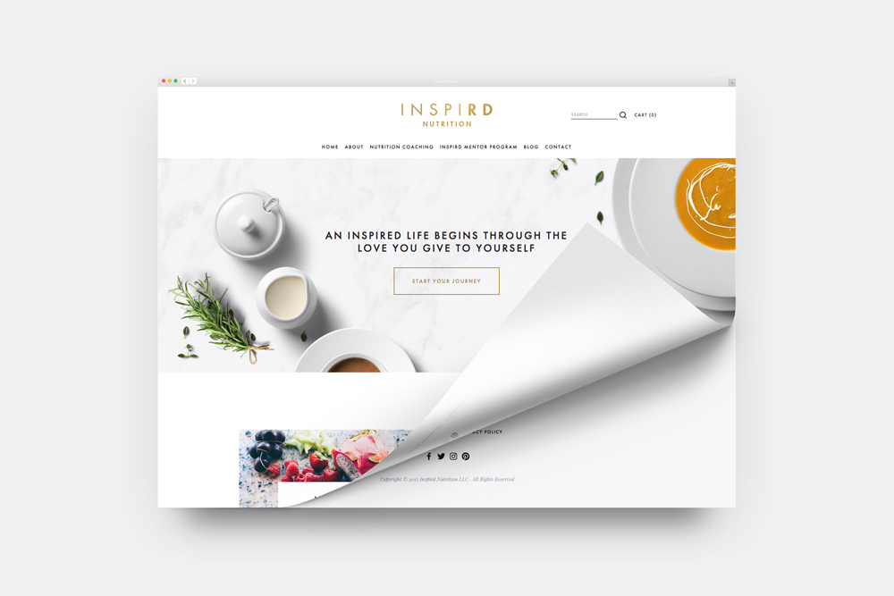 Inspird Nutrition<strong>Branding / Web / Video Production</strong>