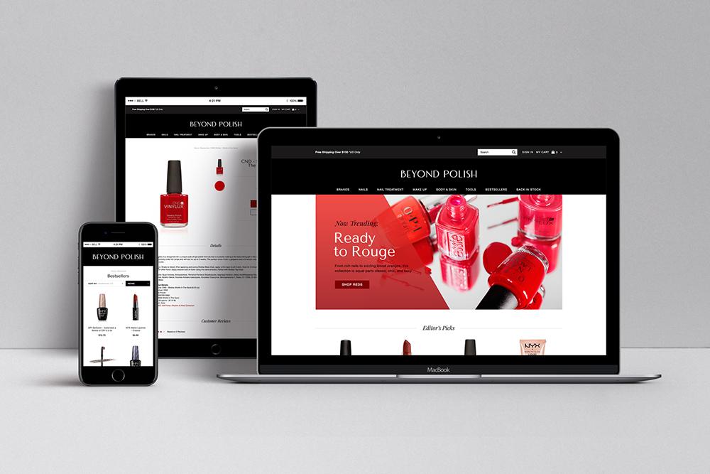 Beyond Polish<strong>Branding / Web / Photography</strong>