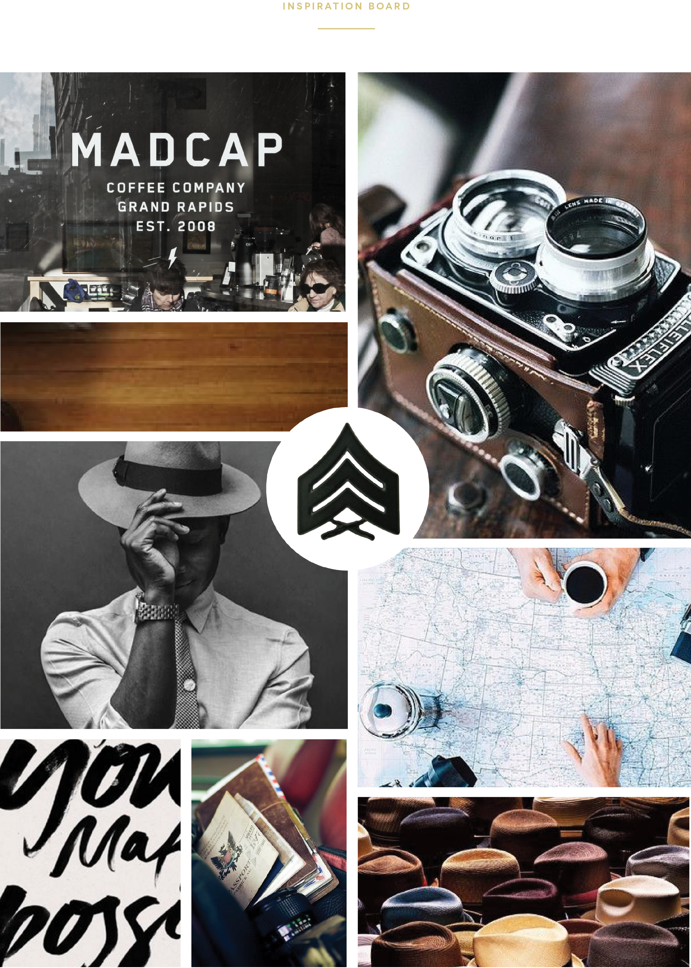 verse and light mood board