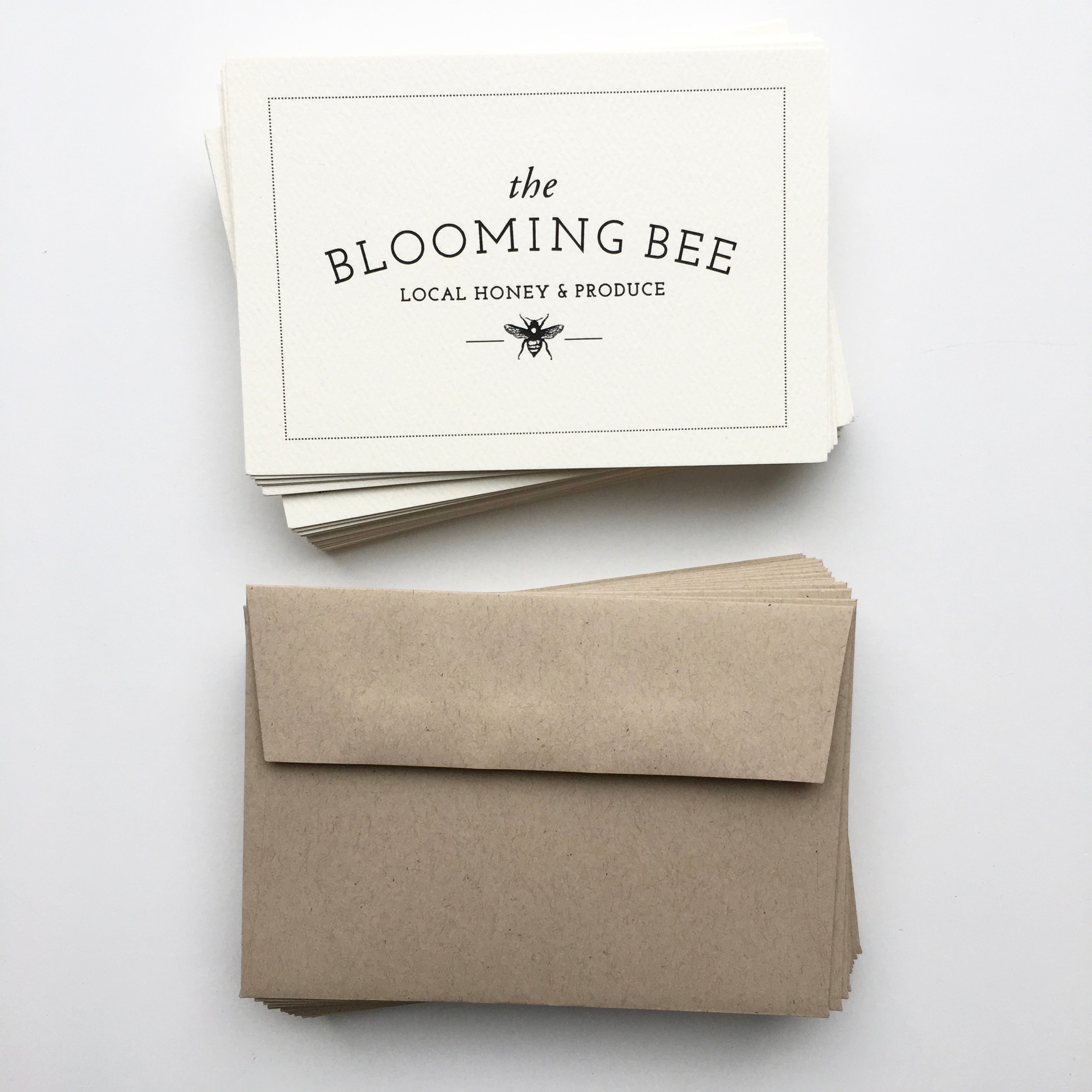 blooming bee card sets
