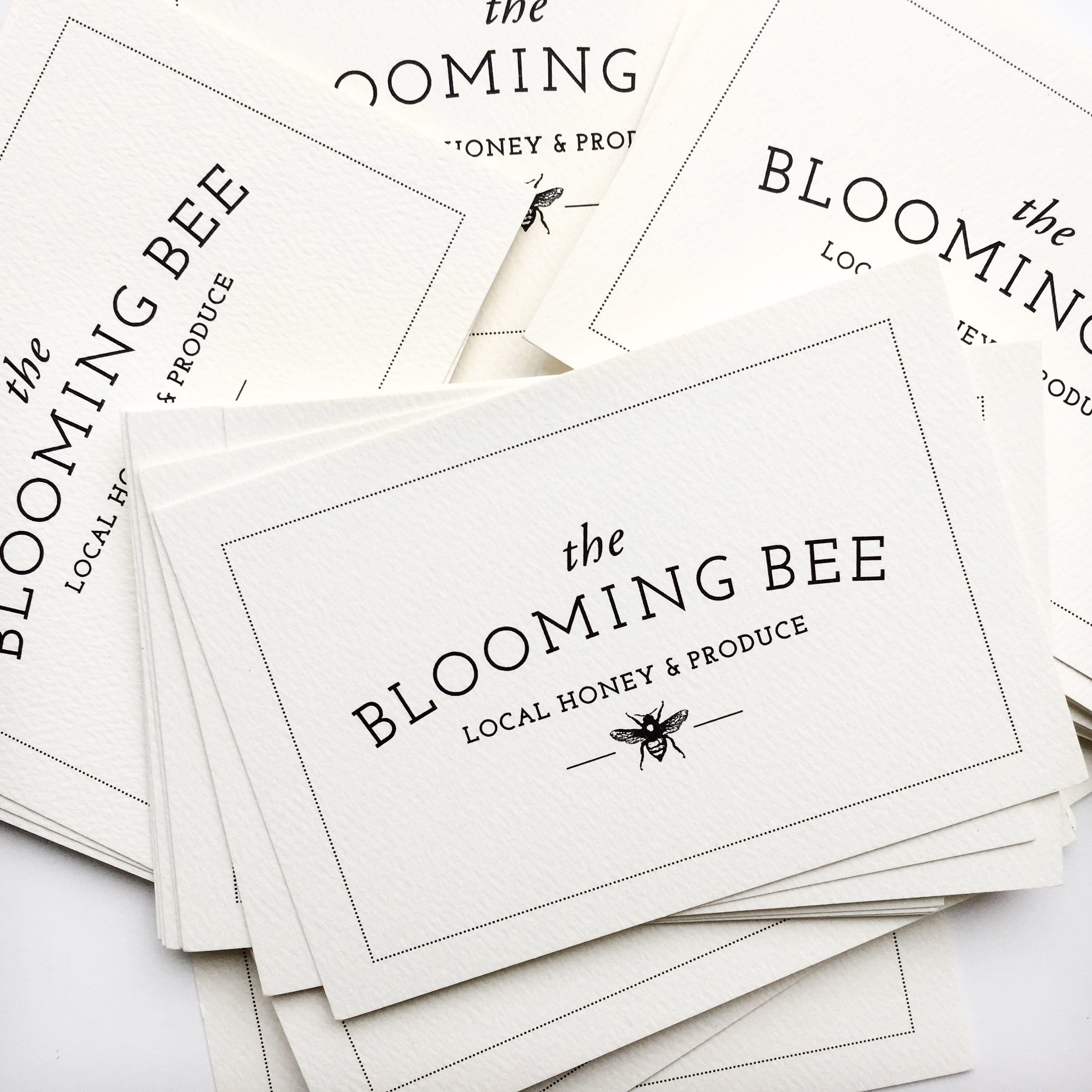 blooming bee cards