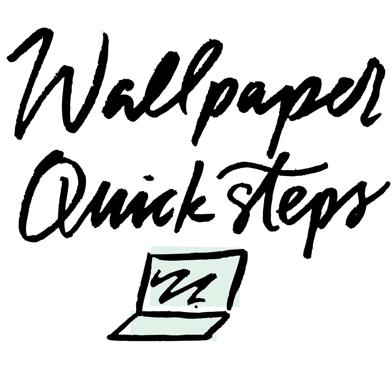 Desktop Wallpaper Tips