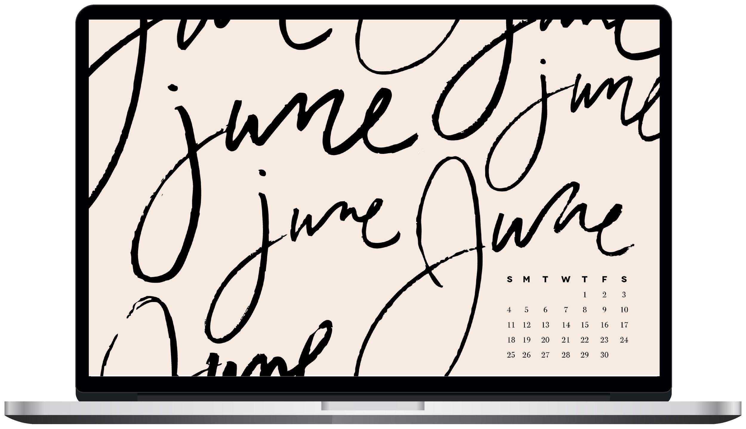 June desktop wallpaper