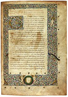 Early manuscript copy of The Tuscan Disputations