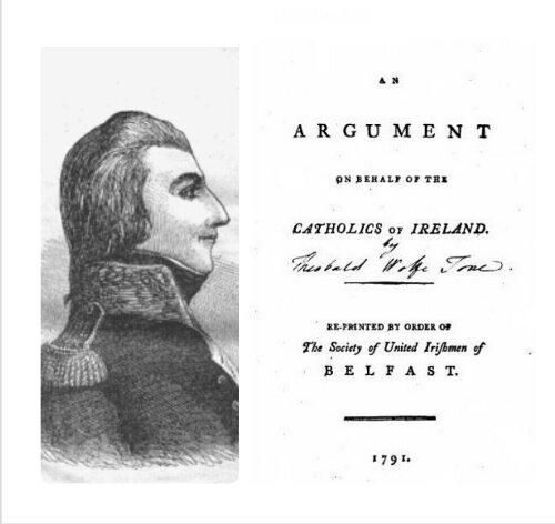Theobald Wolfe Tone, 1791