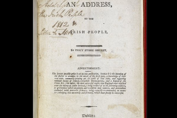 "Shelley's ""Address to the Irish People"", 1812"