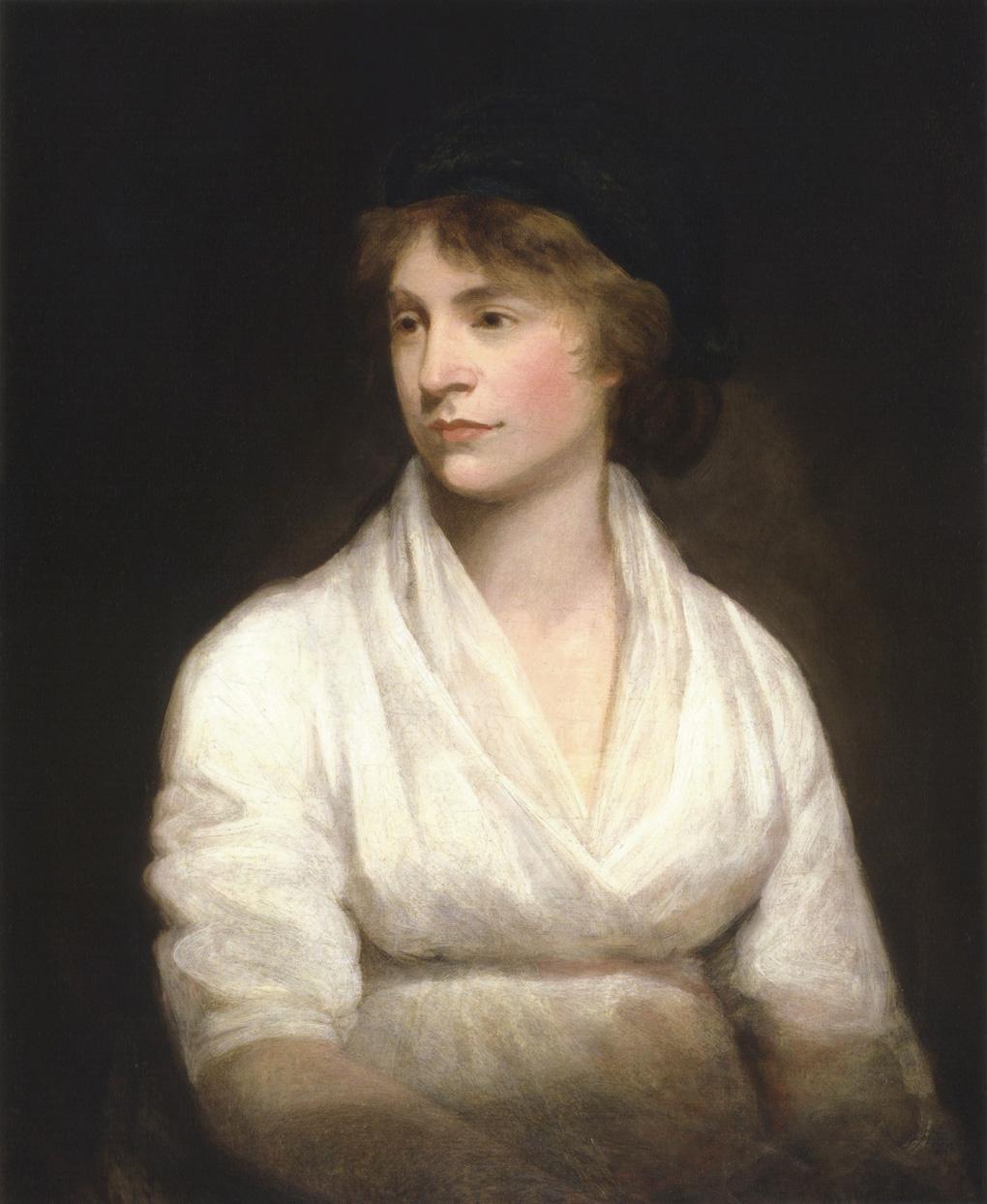 Mary Wollstonecraft, by John Opie, 1797