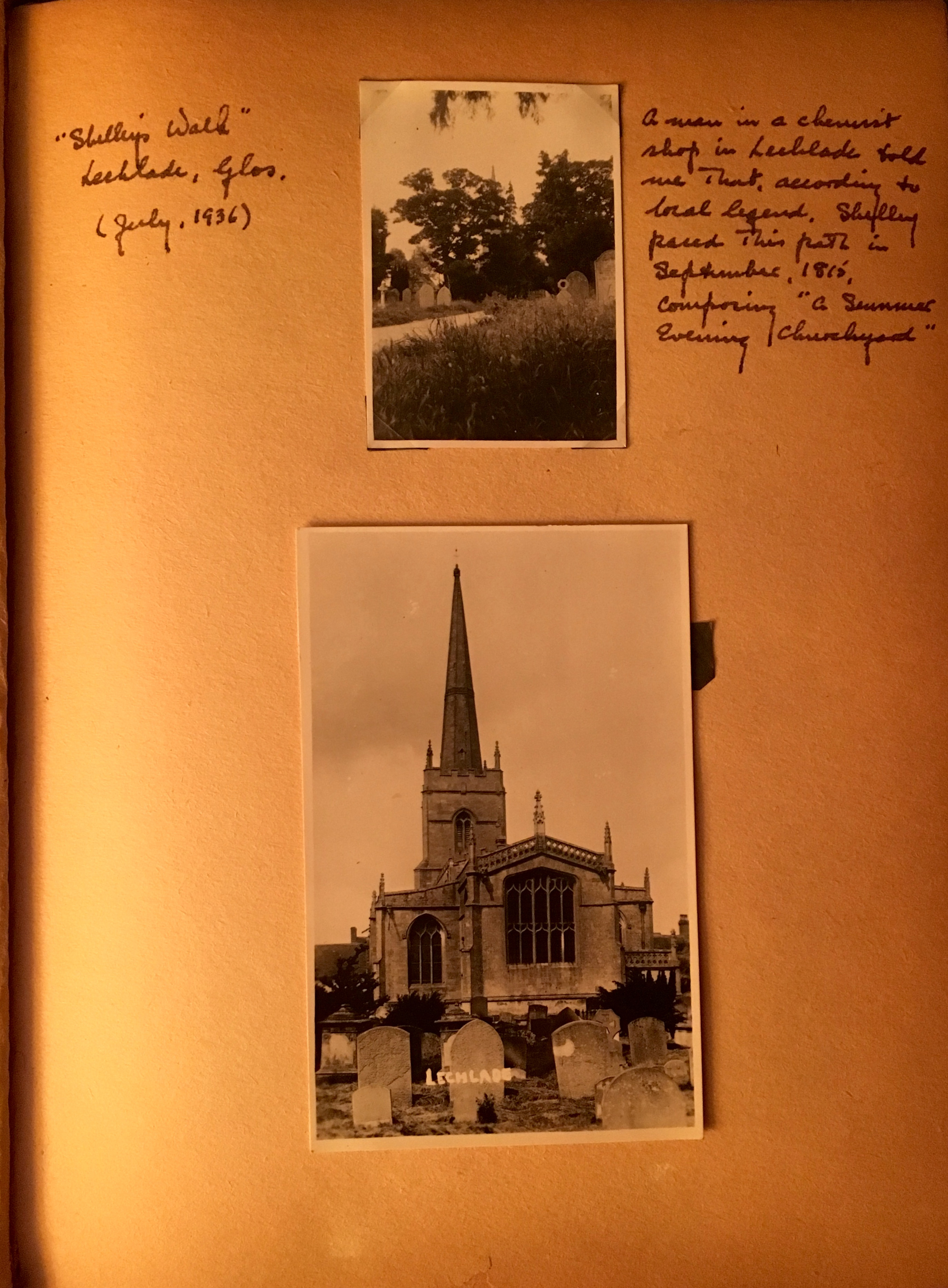 Lechlade, Gloucestershire, 1936
