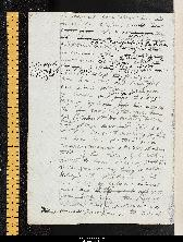 Sample page from the  Bodleian MS Abinger  copy of Frankenstein.
