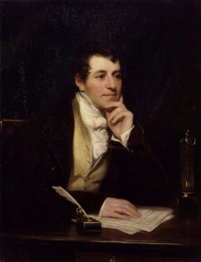 Sir Humphry Davy. Thomas Phillips National Portrait Gallery, London