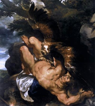 Peter Paul Reubens, Prometheus Unbound. 1611-12.