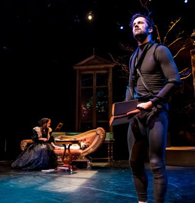 """From """"Mary Shelley's Frankenstein,"""" which ran at the Irene Diamond Stage until January 7."""