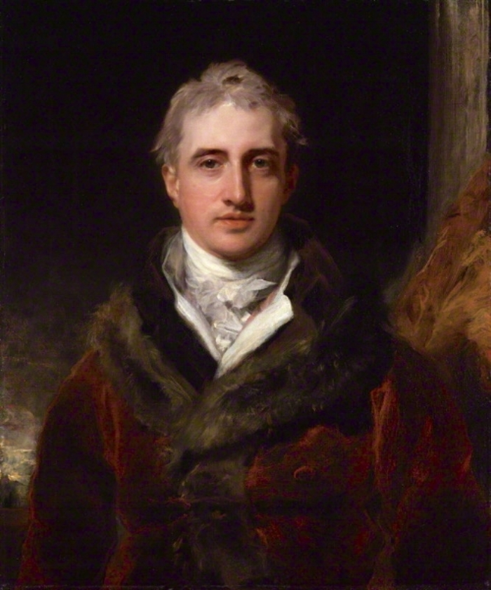 """Unknown Painter, """"Lord Castlereagh, Marquess of Londonderry"""" (1809-10)"""
