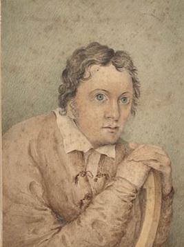Shelley, drawn by Edward Williams (If only PBS had a publicist!)