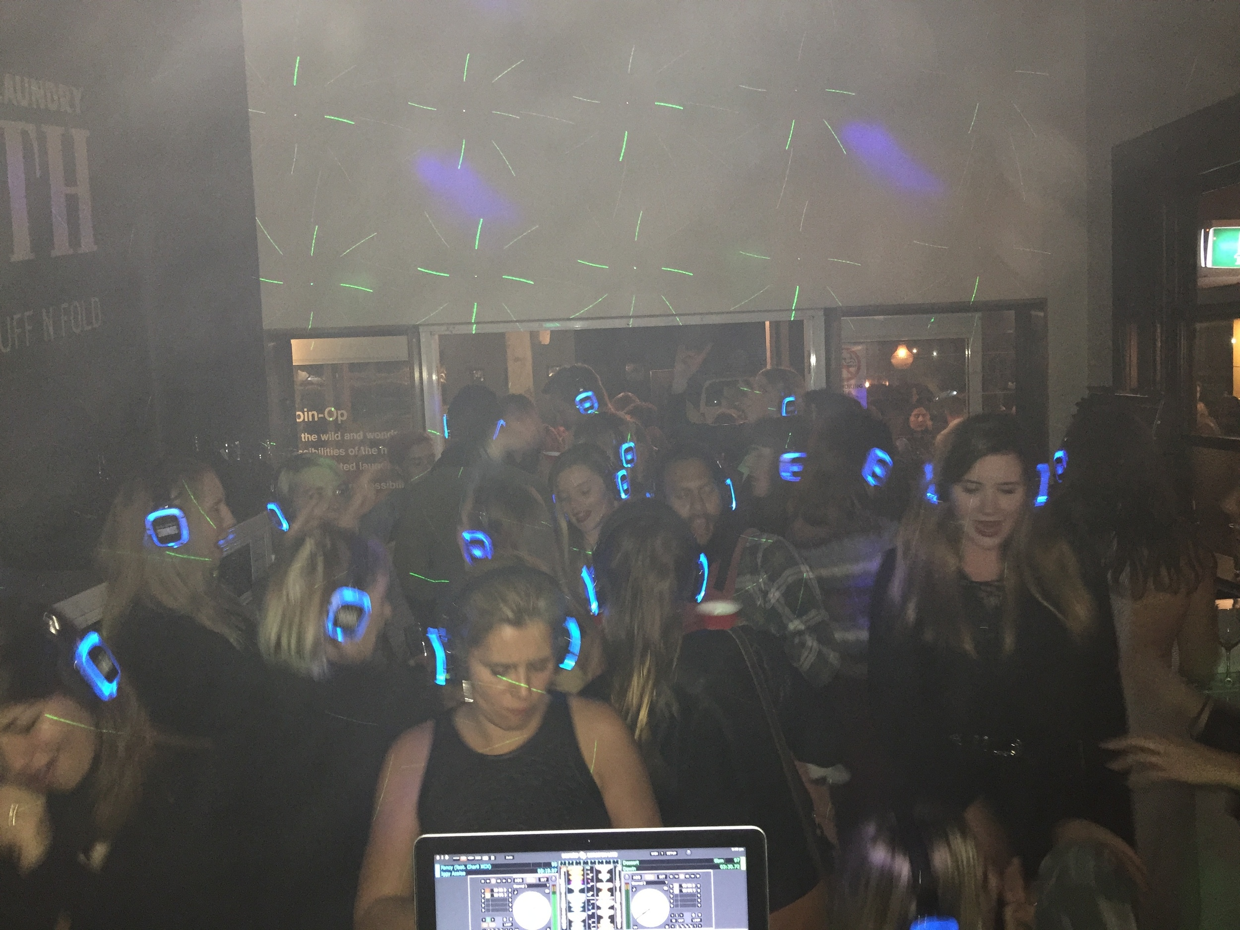 The View from the silent disco