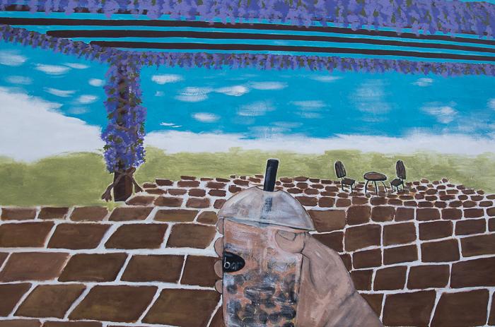 Mural painted by Kate Lorin Wilson