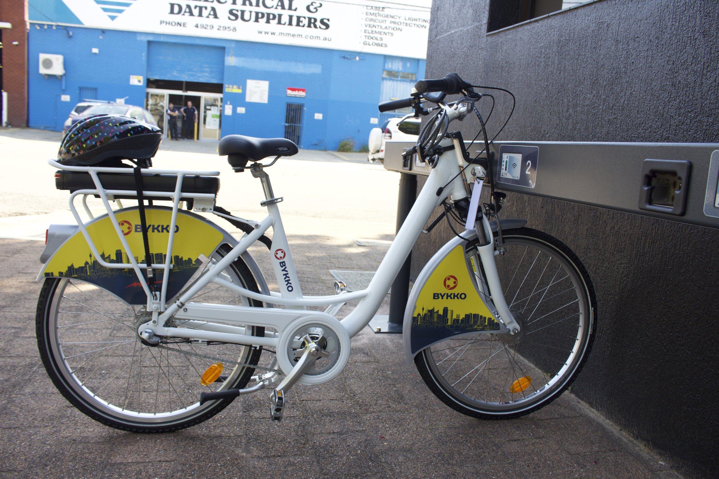 bykko electric bike solution