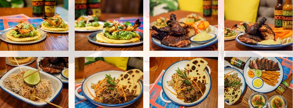 food treats winnie's jamaican finnegan's hotel