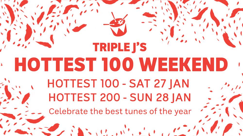 Triple J goes Hottest 100 weekend