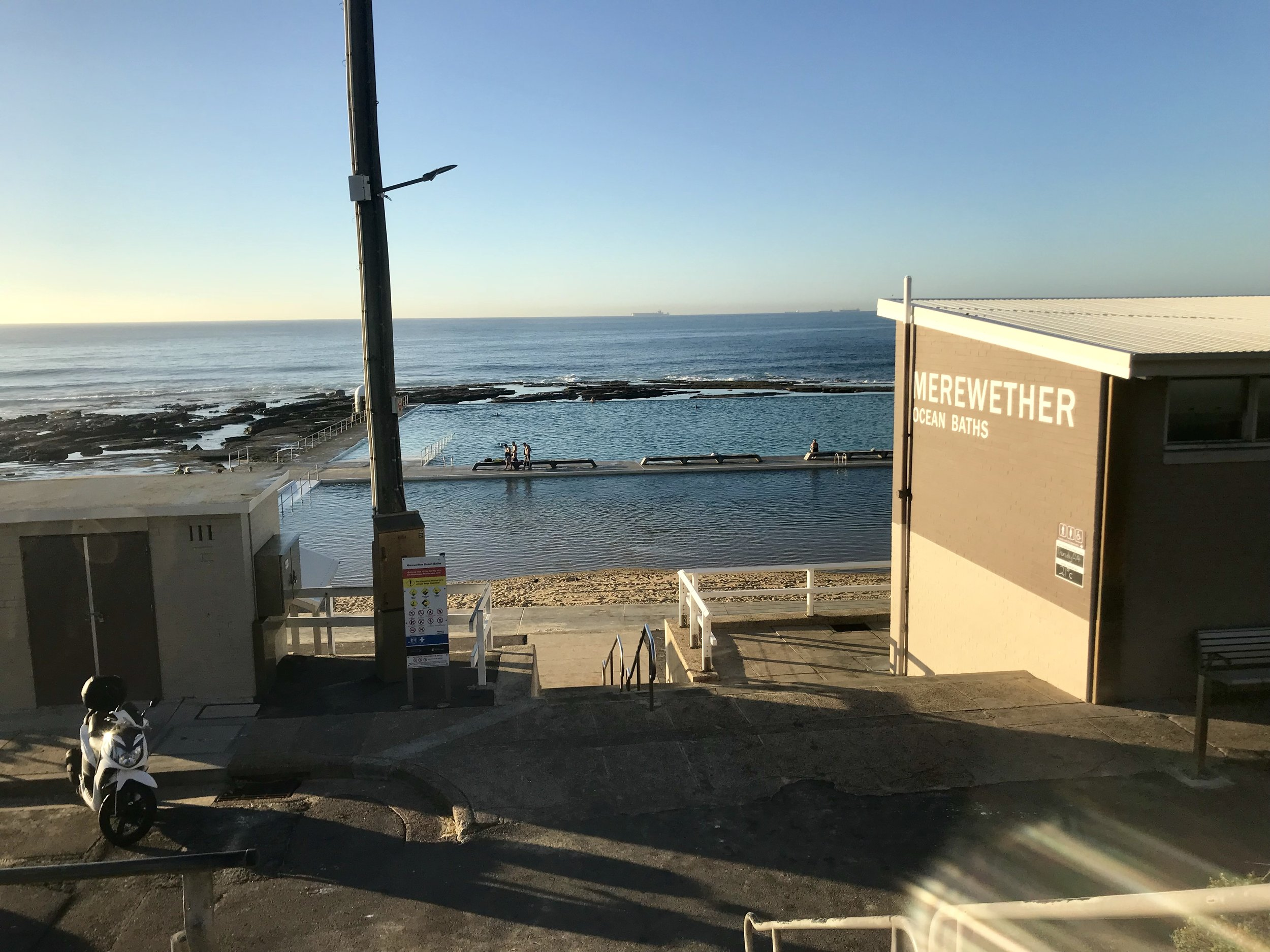 Merewether baths make the change