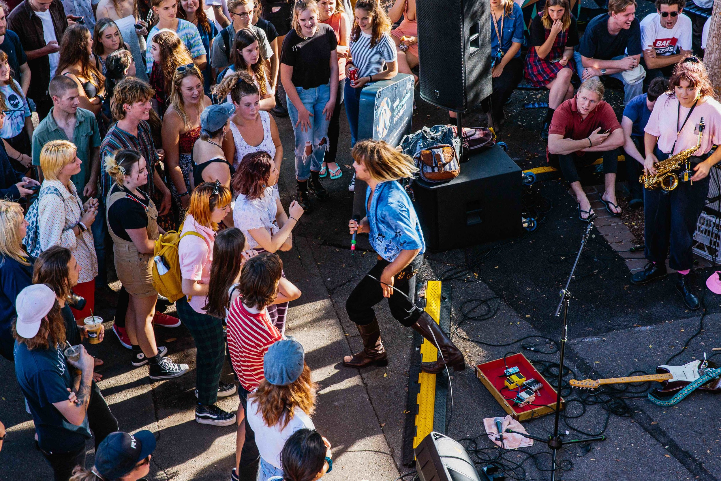 Photo courtesy of Lachlan Jordan Photography for Darby Street Live