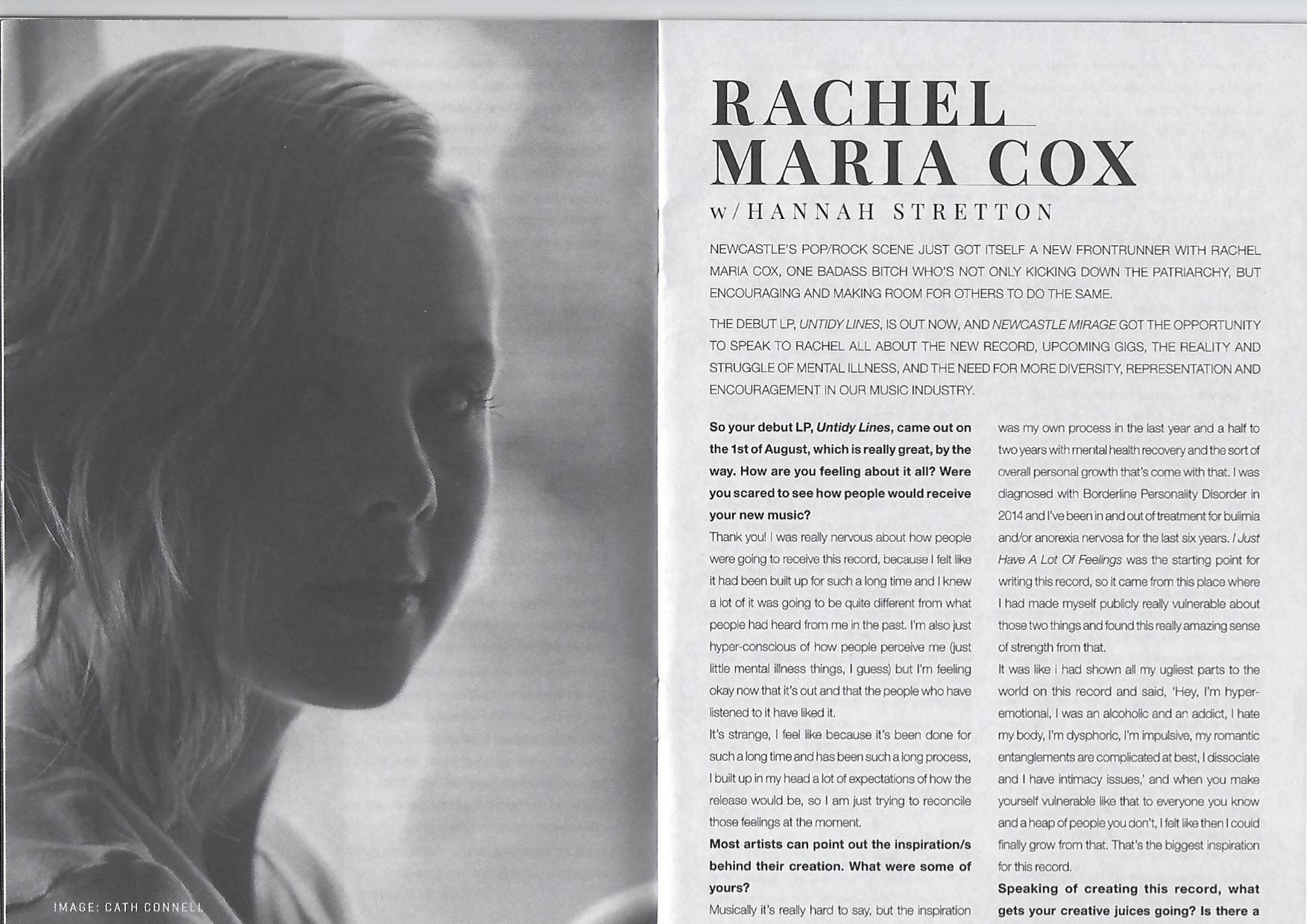 Rachel Maria Cox Interview - Newcastle Mirage 1.jpg