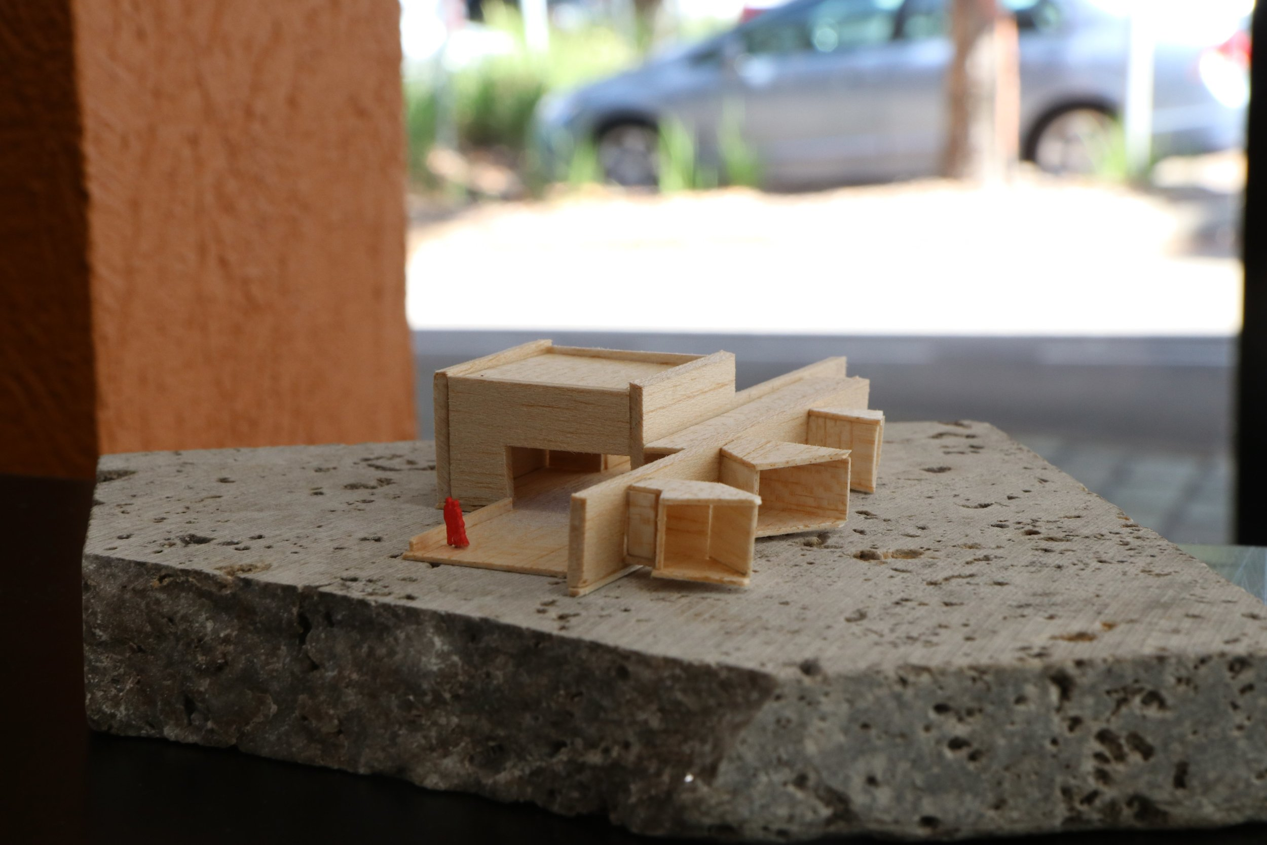Samantha Bailey's 1 to 200 scale model of the Multi-Arts Space.JPG