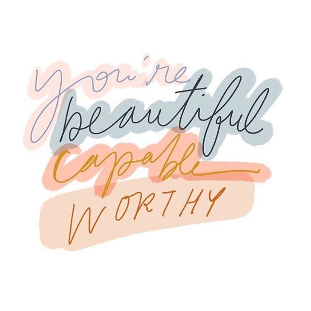 And don't you ever forget it!  Just leaving this here, as your morning reminder 😉❤️