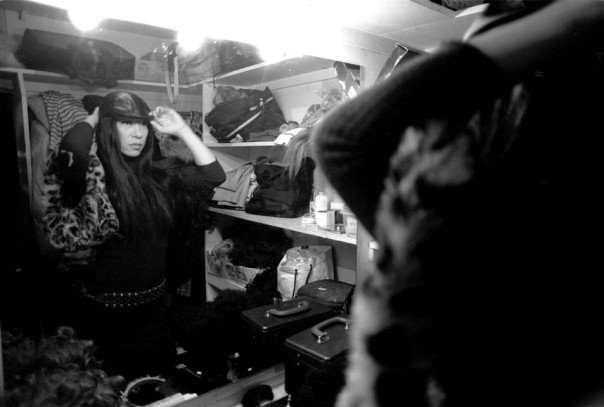 A drag queen/DJ and former owner of the gay/transgender club TRANCE prepares for work. (Itaewon, 2002) Even (and especially) as a photographer, good ethnography was always a major goal of the work.