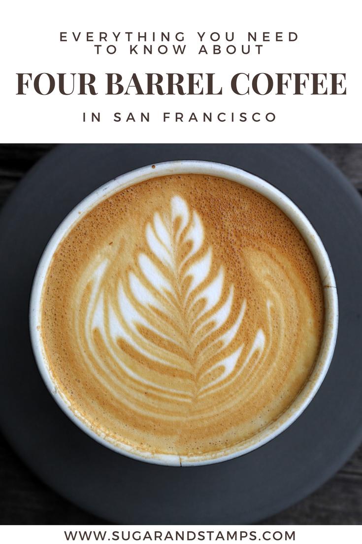 Coffee Talk: Four Barrel Coffee in San Francisco