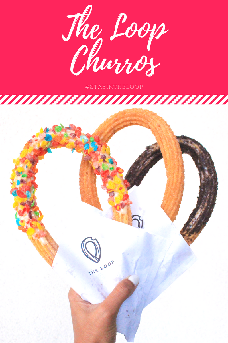 THE LOOP HANDCRAFTED CHURROS IN ORANGE COUNTY, CALIFORNIA