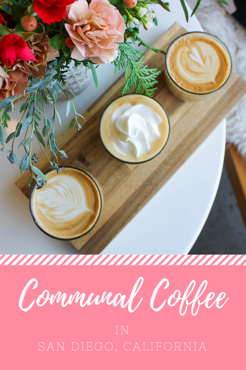 Communal Coffee in San Diego, California