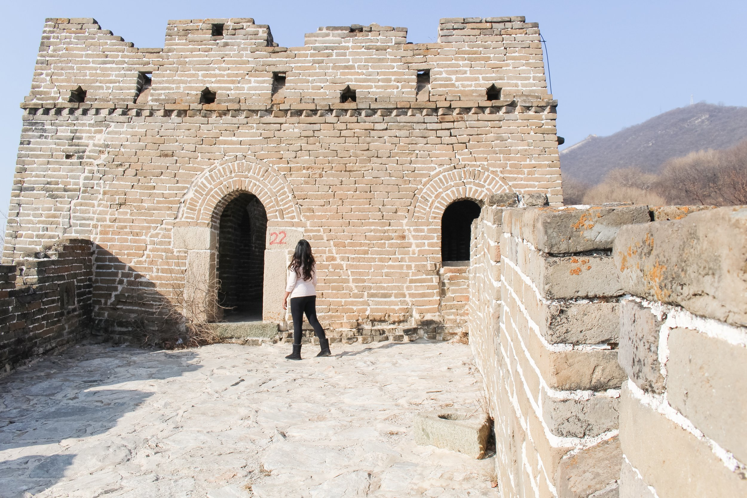 THE GREAT WALL OF CHINA:   JIANKOU SECTION IN BEIJING, CHINA